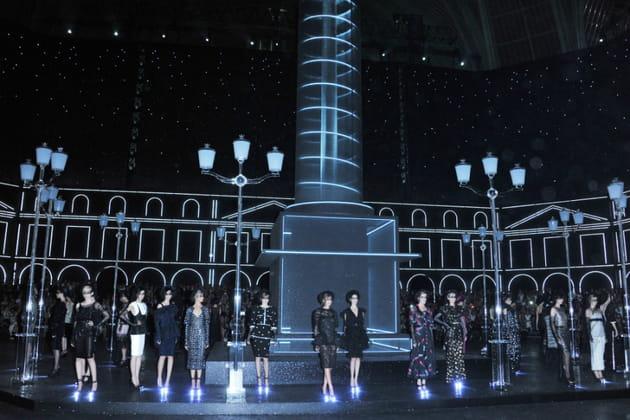 Le décor du défilé Chanel haute couture automne-hiver 2011-2012