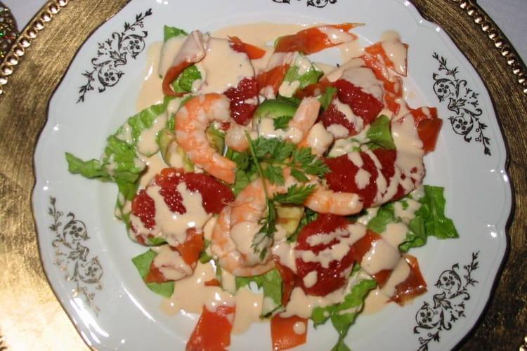 Salade de pamplemousse
