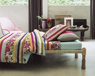 linge de lit sorbets par kenzo pour yves delorme