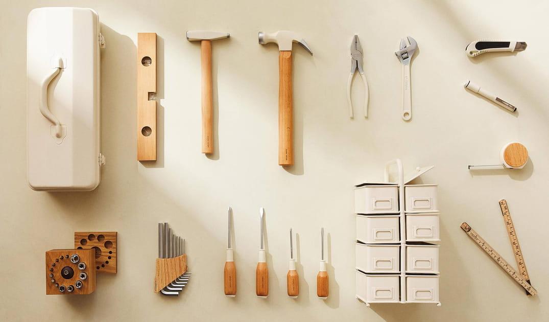 De beaux outils signés Zara Home ou rien pour bricoler!