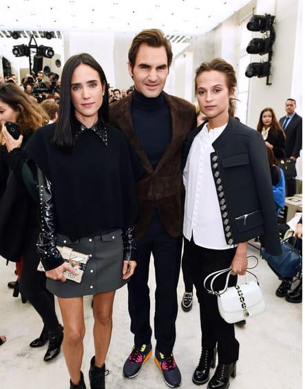 Jennifer Connolly, Roger Federer et Alica Vikander