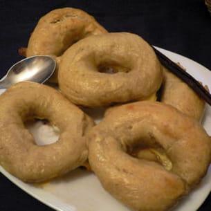 bagels vanillés à la farine de quinoa