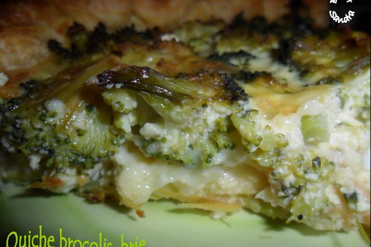 Quiche brie-brocolis