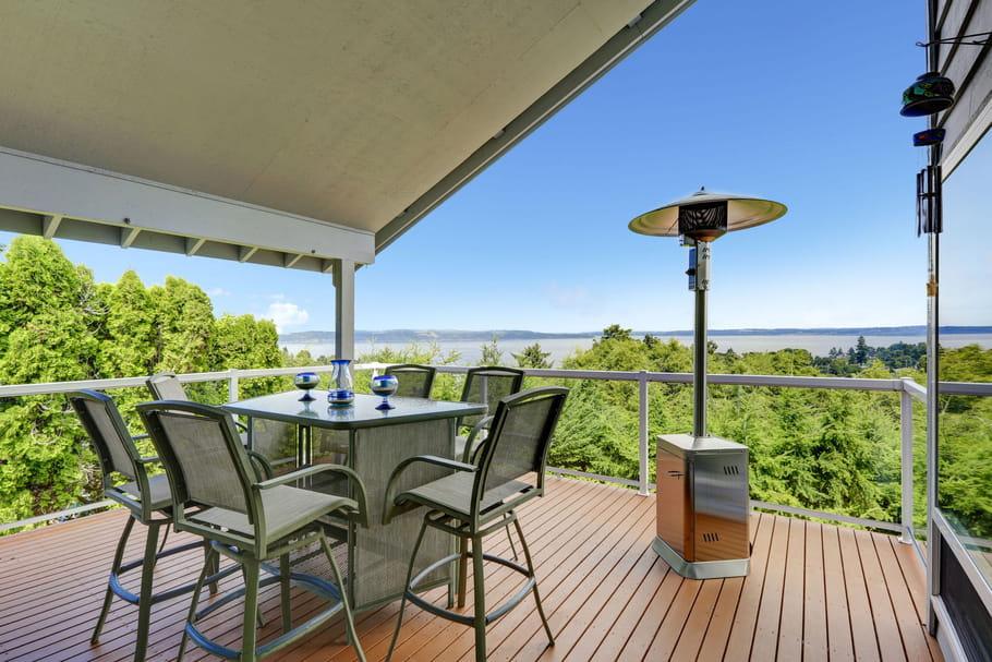 Terrasses, balcons: comment les chauffer enhiver?