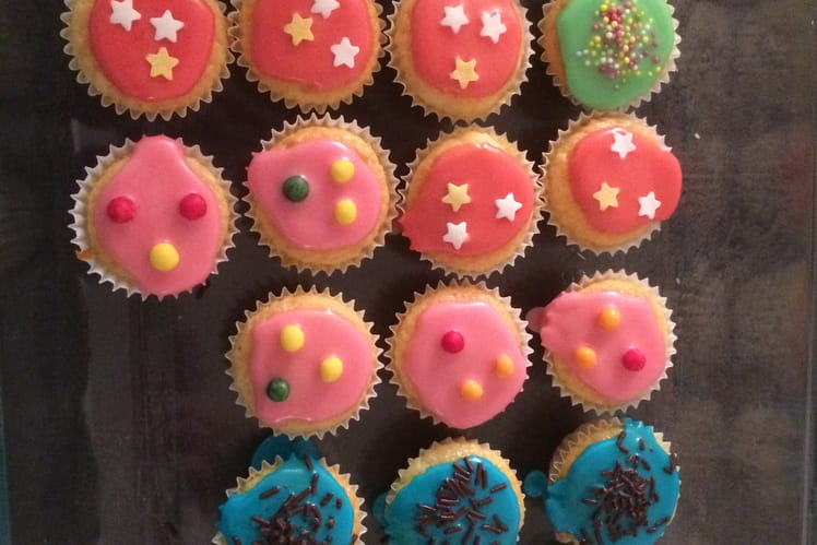 Cupcakes glacage royal