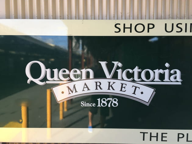 Queen Victoria Market, royal !