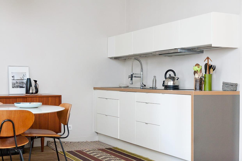 Une cuisine minimaliste for Cuisine minimaliste