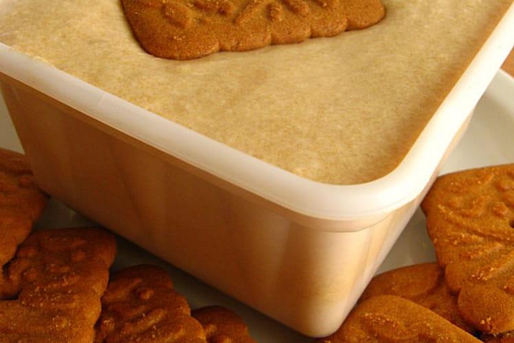Recette de glace aux sp culoos sans sorbeti re la recette facile - Recette de glace facile ...