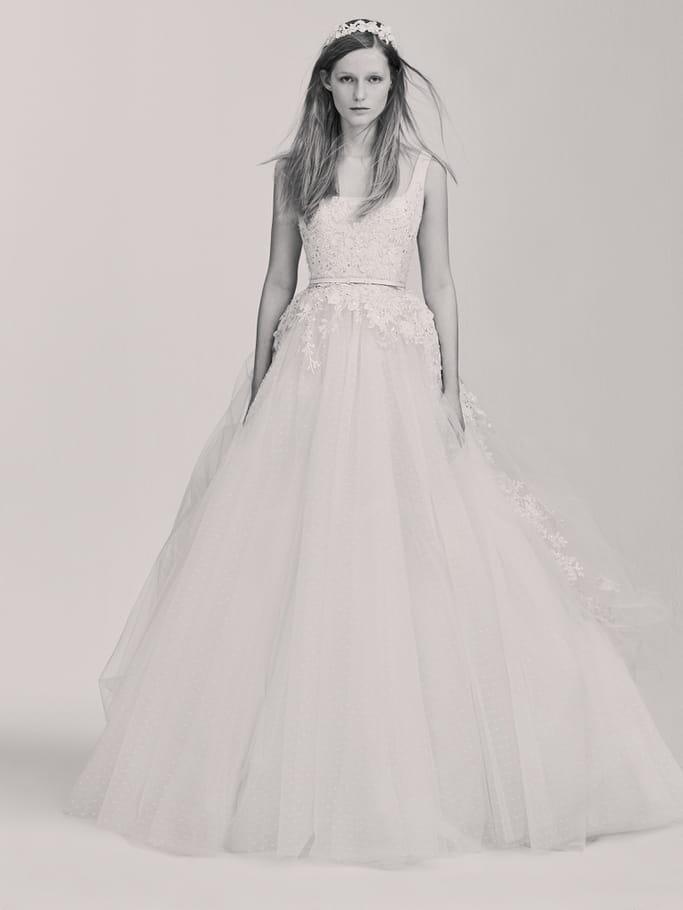 Une robe de mariée magique