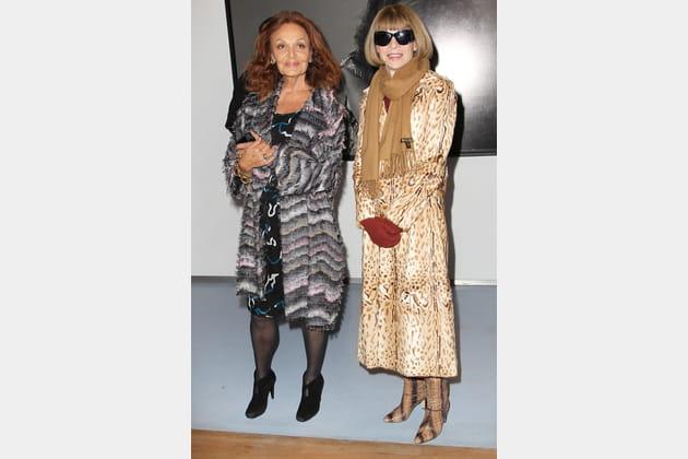 Diane Von Furstenberg et Anna Wintour