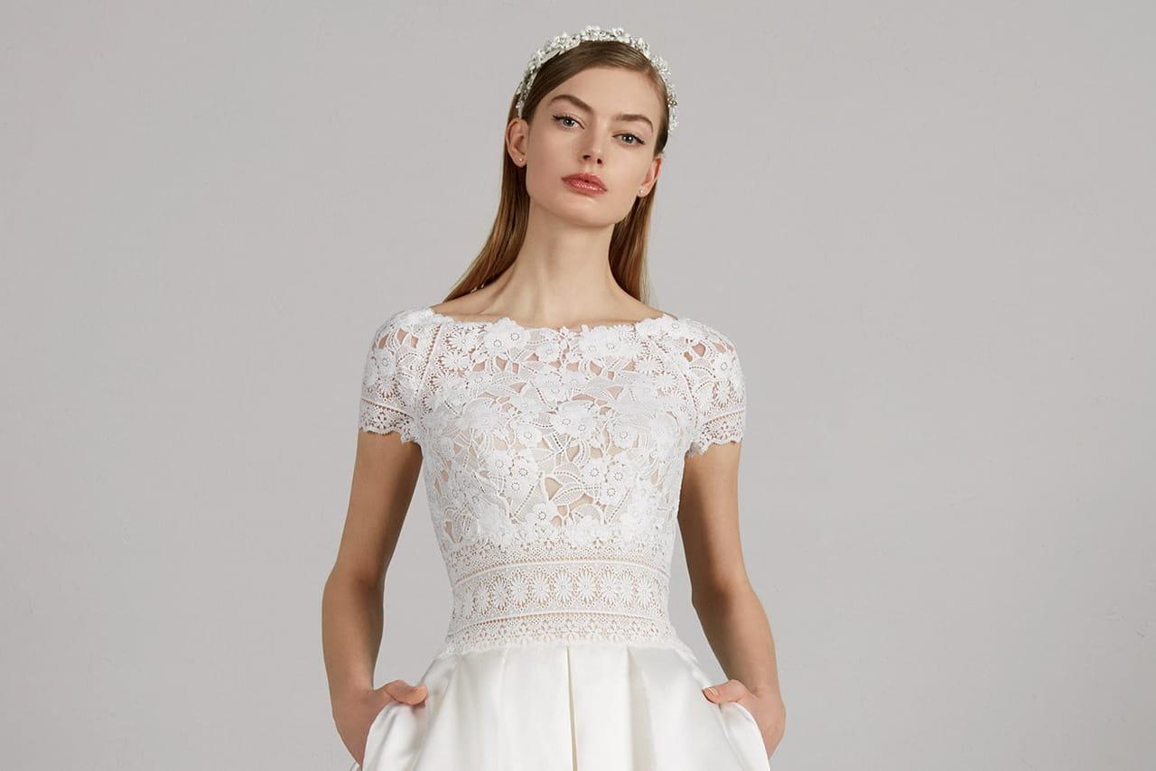 9ee3e6cc92a 45 robes de mariée courtes