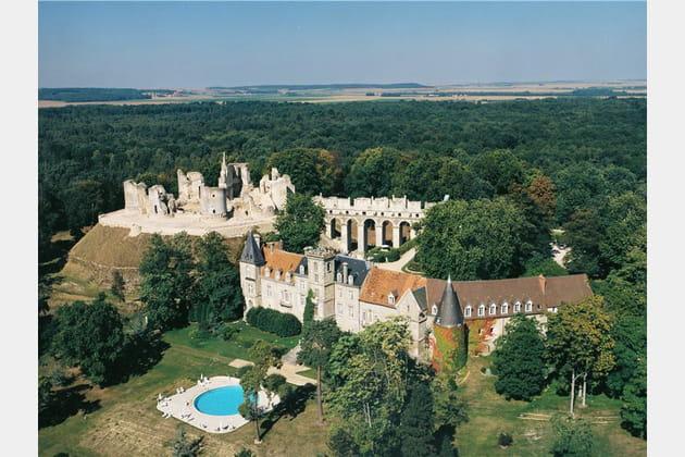 Le Château de Fère : joyau médiéval aux consonances modernes