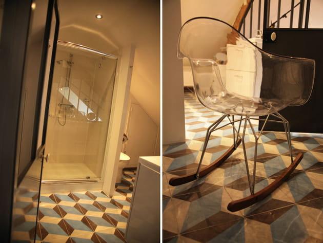 Revêtement de sol salle de bains