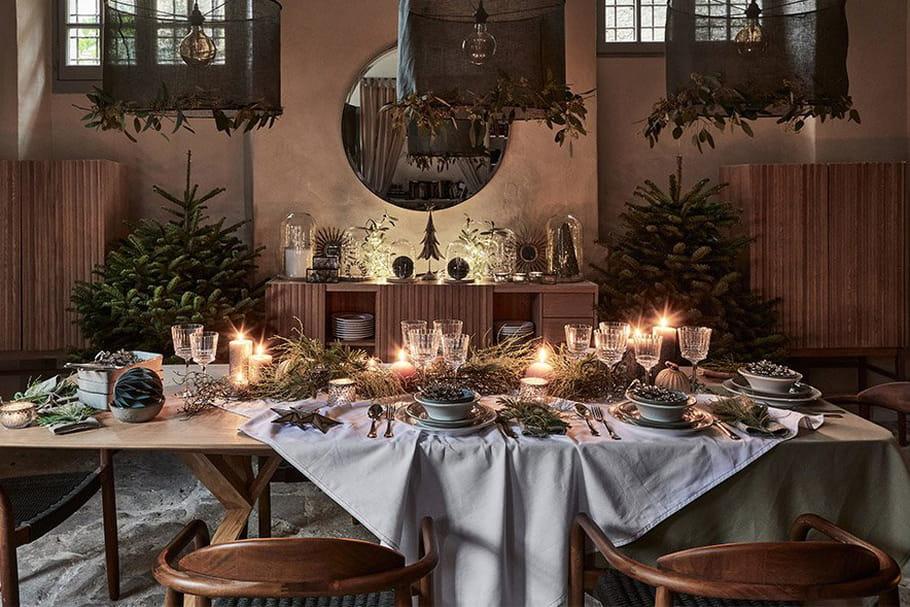 Table de Noël2020: nos idées déco pour une belle table de fête