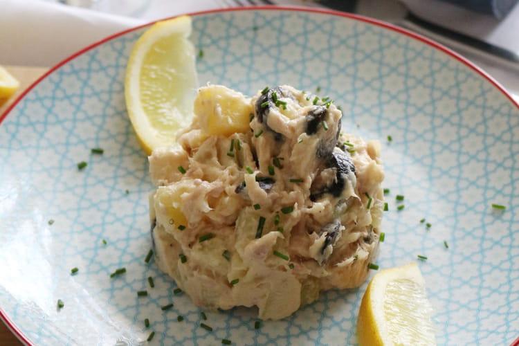 Salade du pêcheur aux pommes de terre et thon