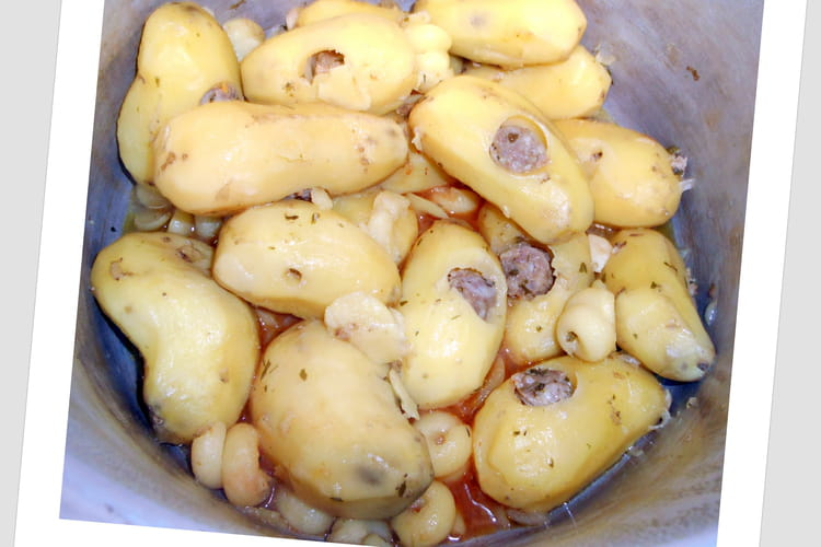 Pomme de terre farcie à l'autocuiseur