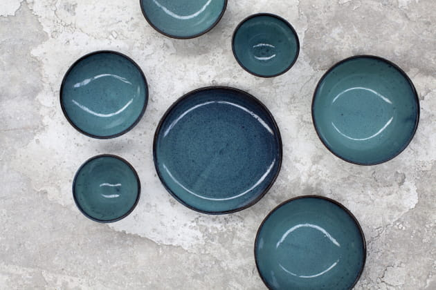Vaisselle Aqua en céramique de Serax