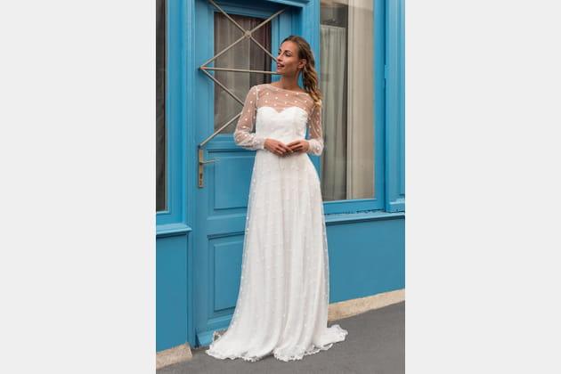 Robe de mariée Belle île, Marie Laporte