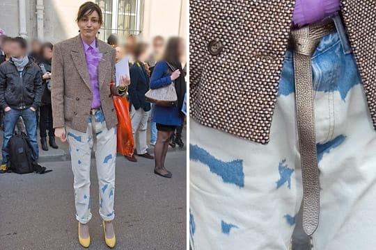 Fashion week : les street looks des défilés parisiens PAP automne-hiver 2011-2012 53