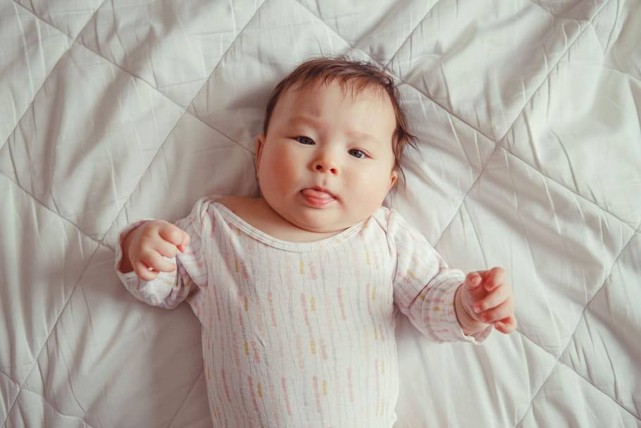 Le bébé de 4 mois