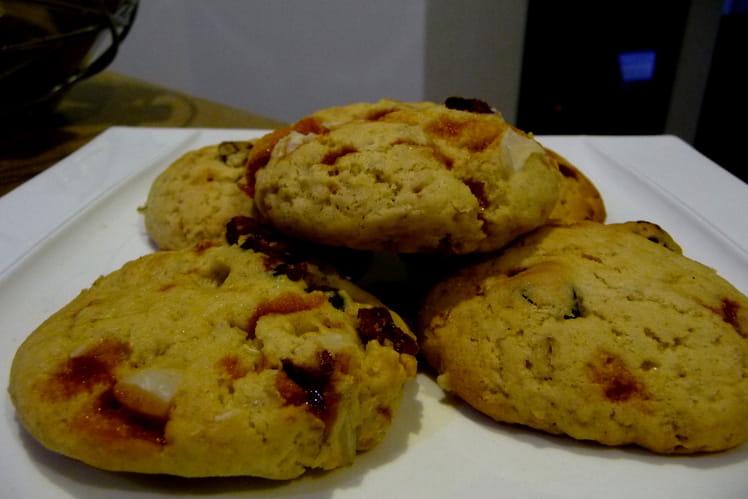 Cookies cranberries & noix du Brésil caramélisées