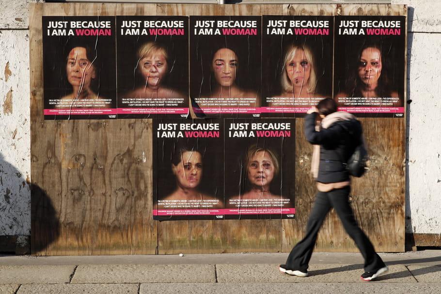 Brigitte Macron, femme battue, en sang et tuméfiée...comme les autres?
