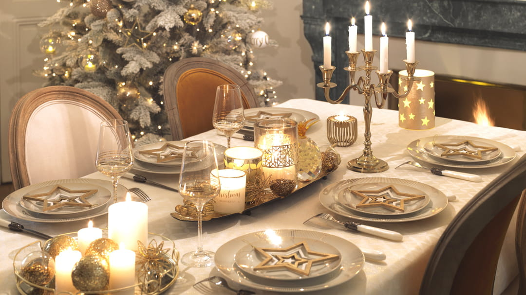 Les 6 tendances d co de no l 2017 - Table de noel 2017 ...
