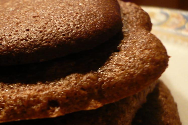 Palets au chocolat noir et amandes