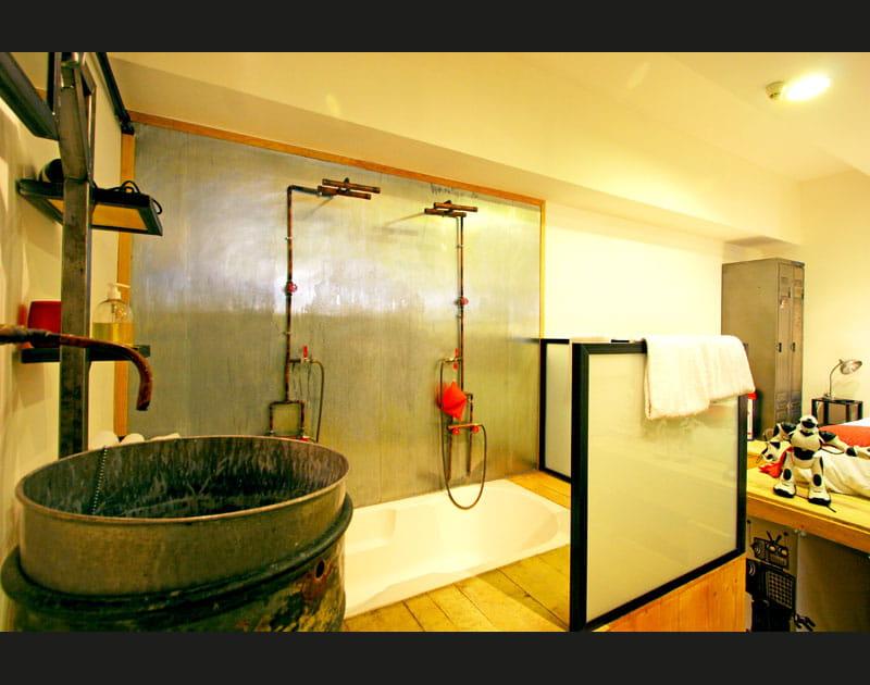 Salle de bains insolite
