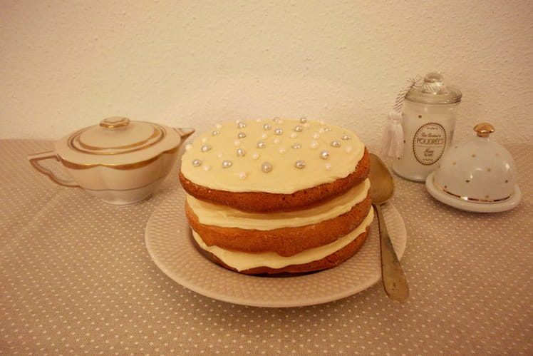 Naked cake au Golden Syrup