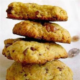 cookies moelleux chocolat et noix de pécan.