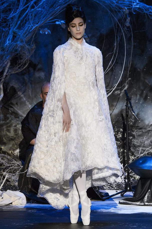 Robe de mariée Franck Sorbier, ballerine