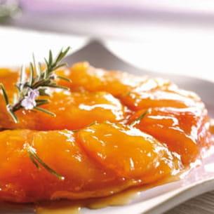 tatin d'abricots au romarin
