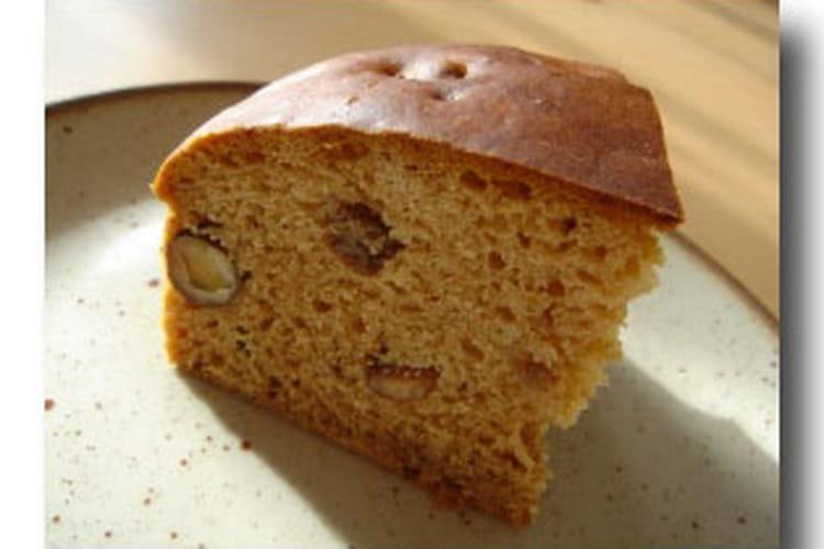 Cake aux fruits secs à la cannelle