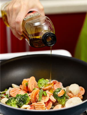 légumes surgelés ou poêlée de légumes préparés ?