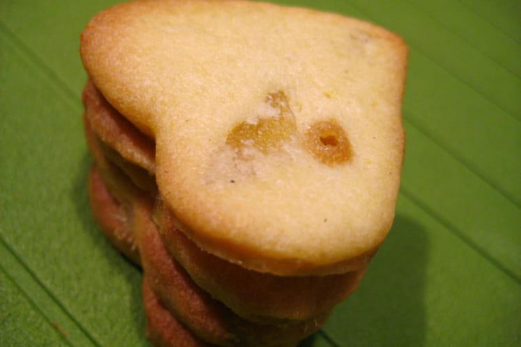 Sablés au gingembre confit