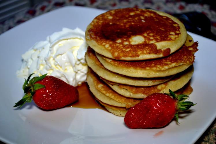 Les pancakes chantilly de Vampire Diaries