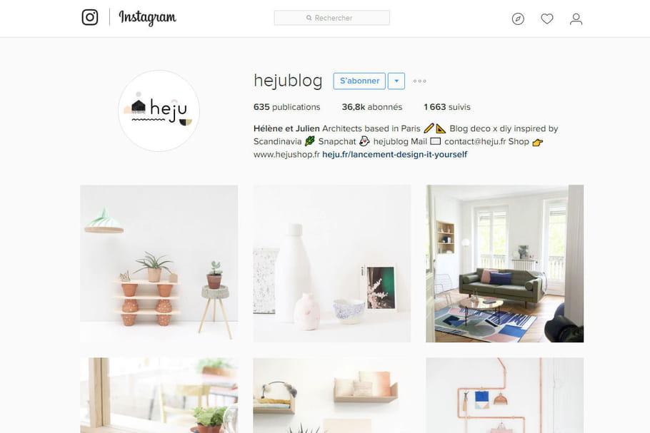 Les 3idées déco repérées sur l'Instagram de Heju