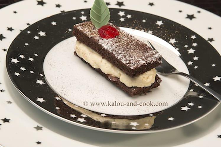 Gâteau double chocolat et fève tonka