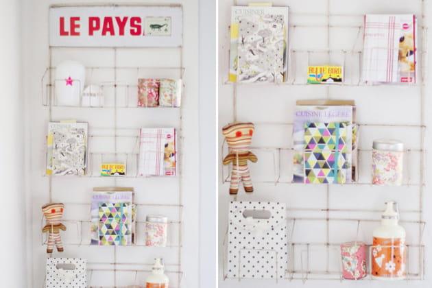 Un porte cartes postales pour exposer - Rangement cartes postales ...