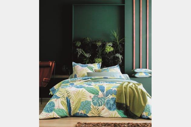Parure de lit Bali chez Camif