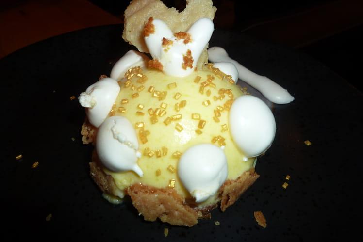 Dôme de tarte au citron