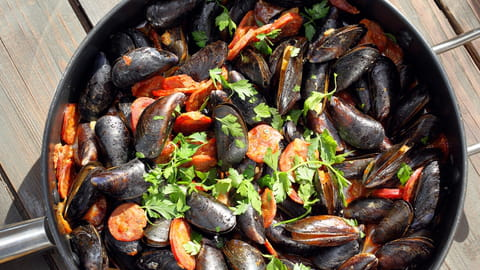 Comment faire cuire moules