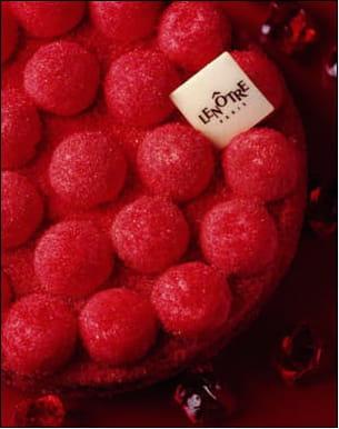 tarte glacée des écoliers aux bonbons fondants de lenôtre
