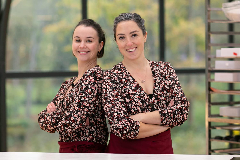 Louise et Pascaline: le duo féminin éliminé du Meilleur Pâtissier