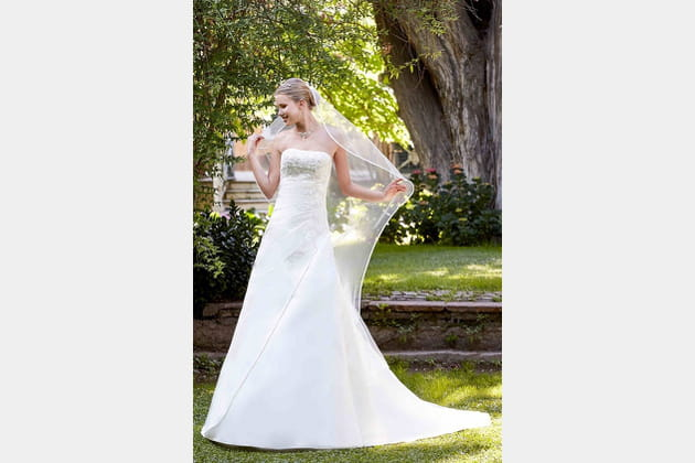 Robe de mariée Engaly de Point Mariage