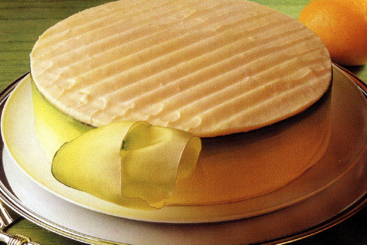 Pain de Gênes et sa ganache de mousse au citron