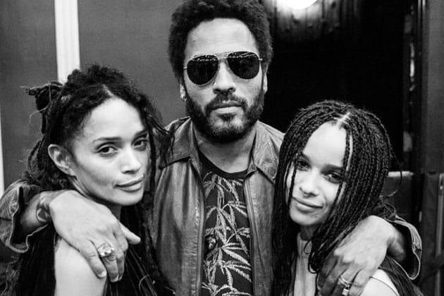 Lisa Bonet, Lenny Kravitz et leur fille Zoé