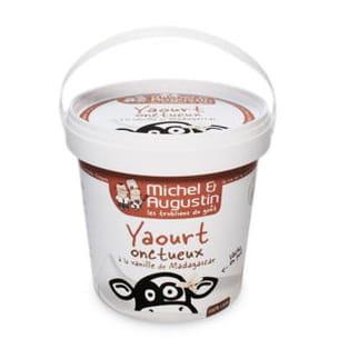 le yaourt aux noisettes de michel et augustin