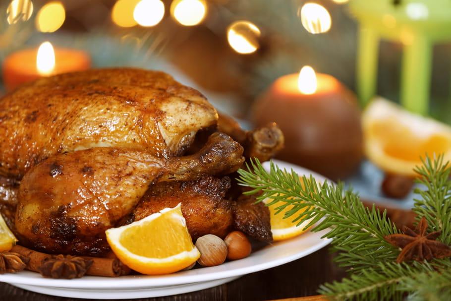 Dinde de Noël: recettes de fêtes simples et infos prix